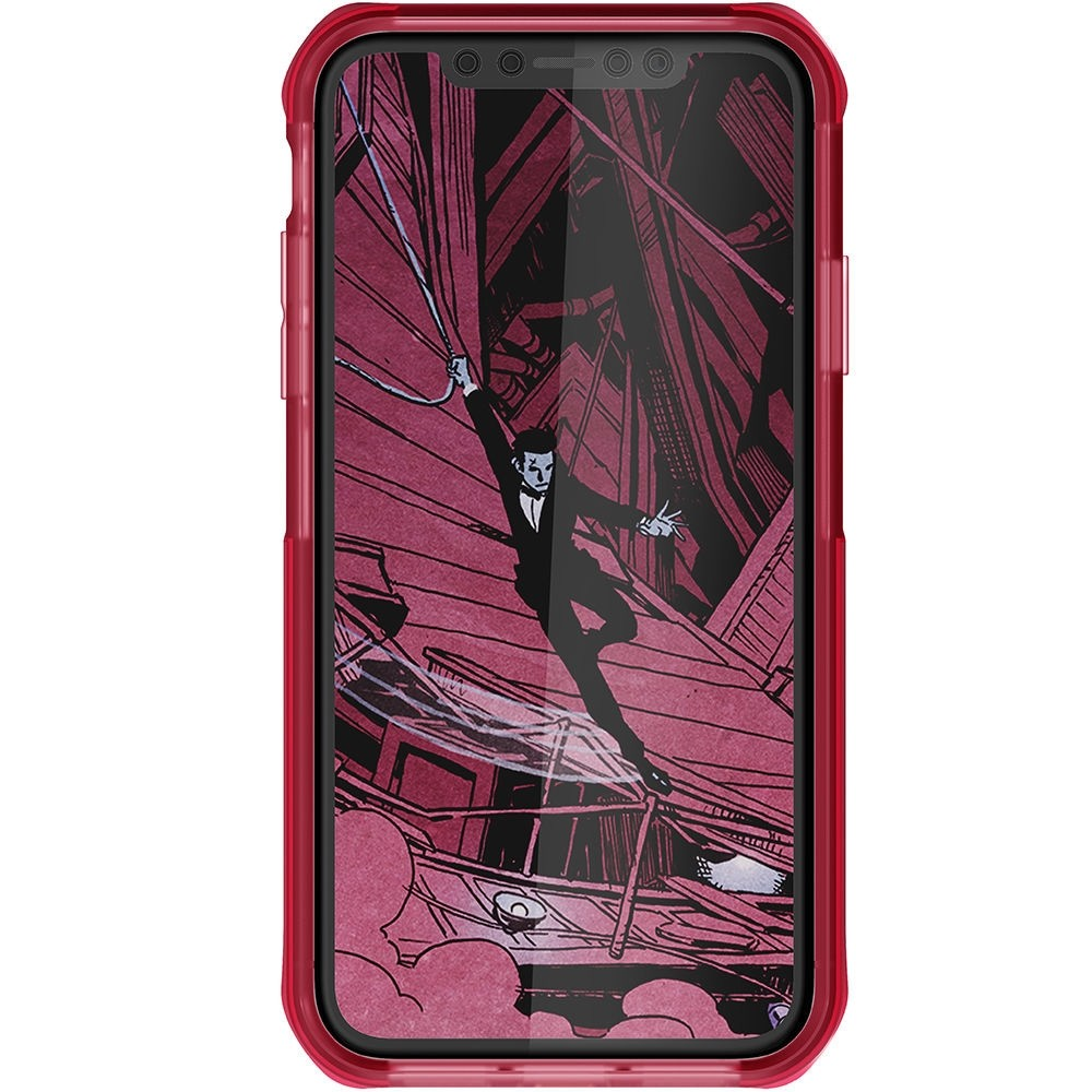 Ghostek Cloak 4 iPhone XR Hoesje Roze/Transparant - 3