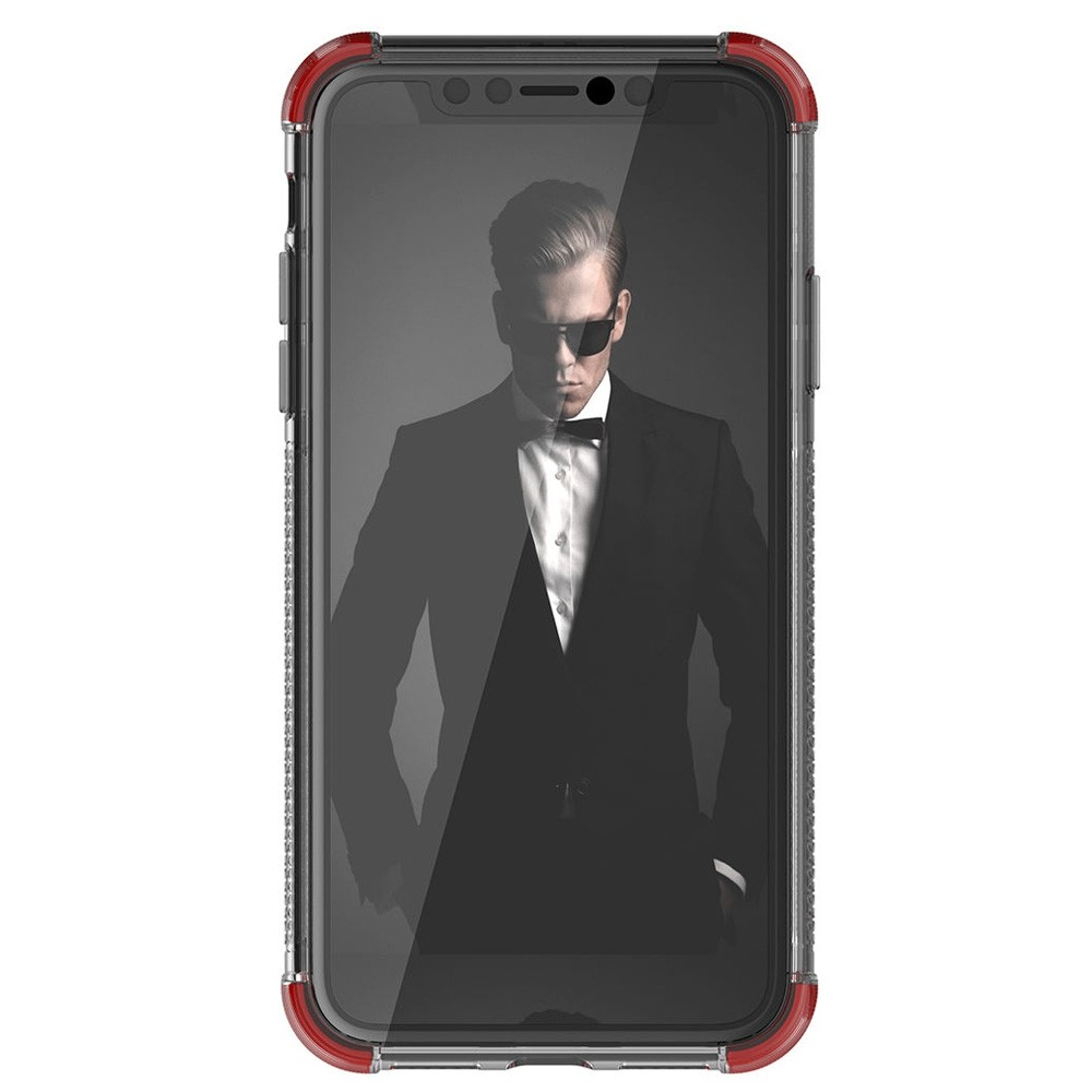 Gostek Cover 2 iPhone XR Rood/Transparant - 3
