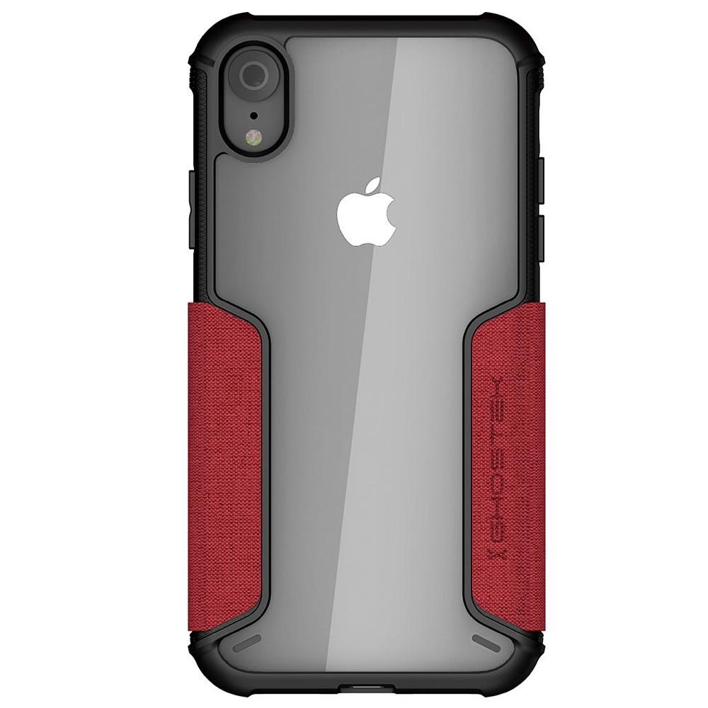 Ghostek Exec 2 iPhone XR Wallet Rood/Transparant - 3