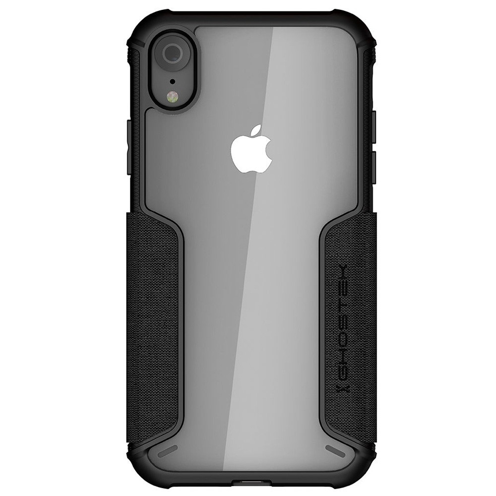 Ghostek Exec 2 iPhone XR Wallet Zwart/Transparant - 3