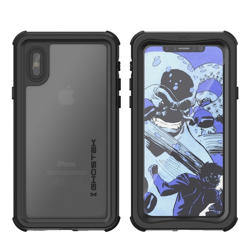 Ghostek Nautical Waterdicht iPhone X/Xs hoesje Zwart 03
