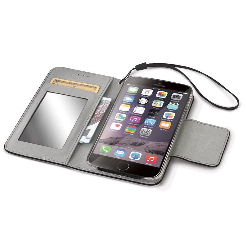 Celly Glitter Agenda iPhone 6 Plus Black - 3