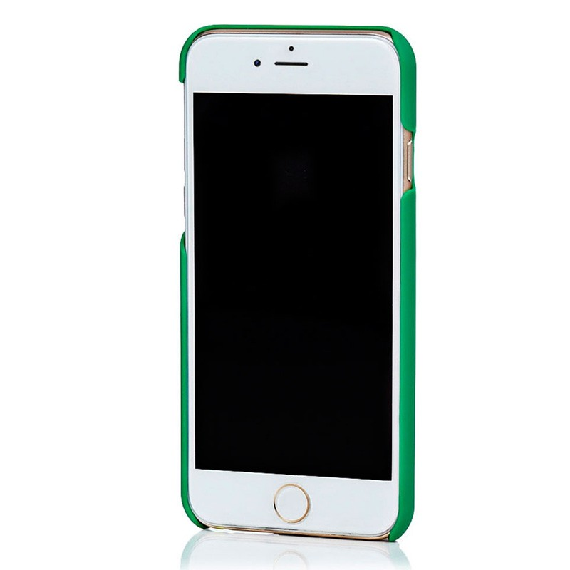 Knomo Leather Snap On iPhone 6 Green - 3