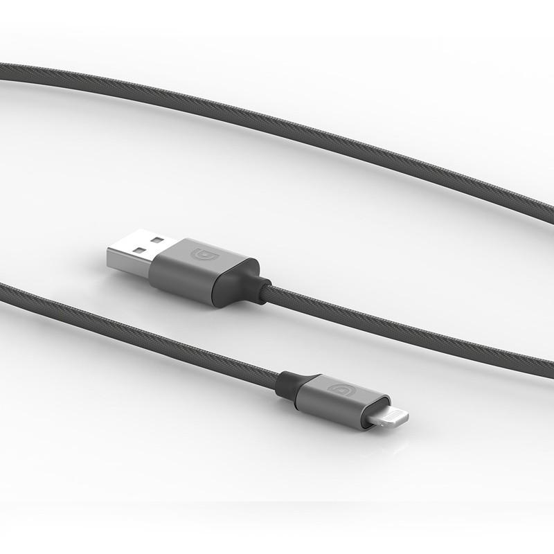 Griffin - Premium USB to Lightning Kabel 1,5 meter Space Gray 02