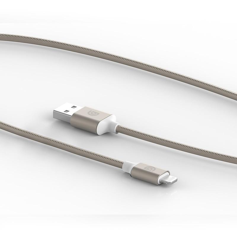 Griffin - Premium USB to Lightning Kabel 3 meter Gold 02