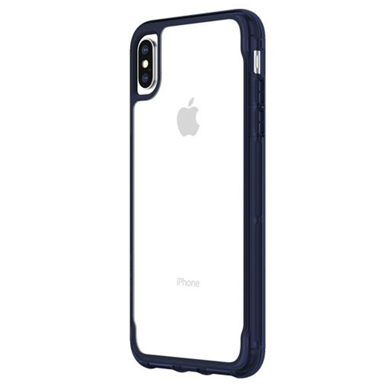 Griffin Survivor Clear iPhone XS Max Hoes Iris/Transparant 03