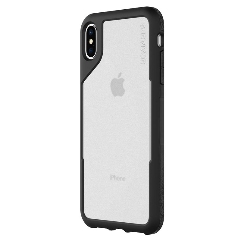 Griffin Survivor Endurance iPhone XS Max Case Zwart/Transparant 03