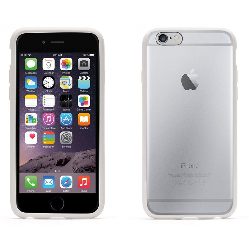 Griffin Reveal iPhone 6 White/Clear - 3