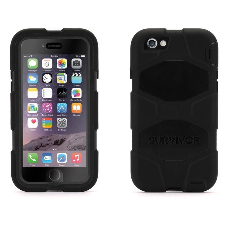 Griffin Survivor Extreme Duty Case iPhone 6 Black - 3