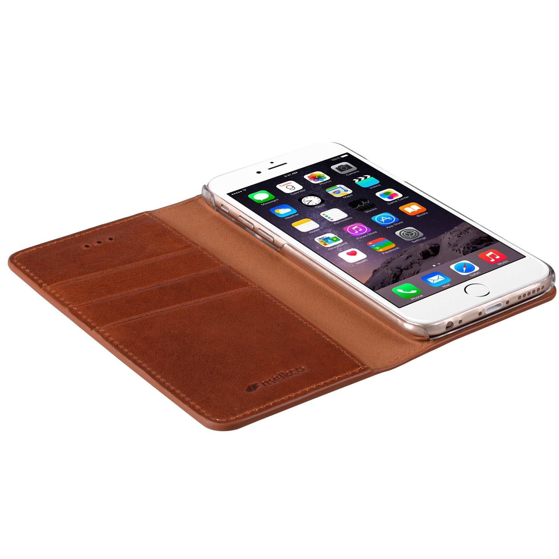 Mekco Herman Wallet Case iPhone 6/6S Tan Brown - 3