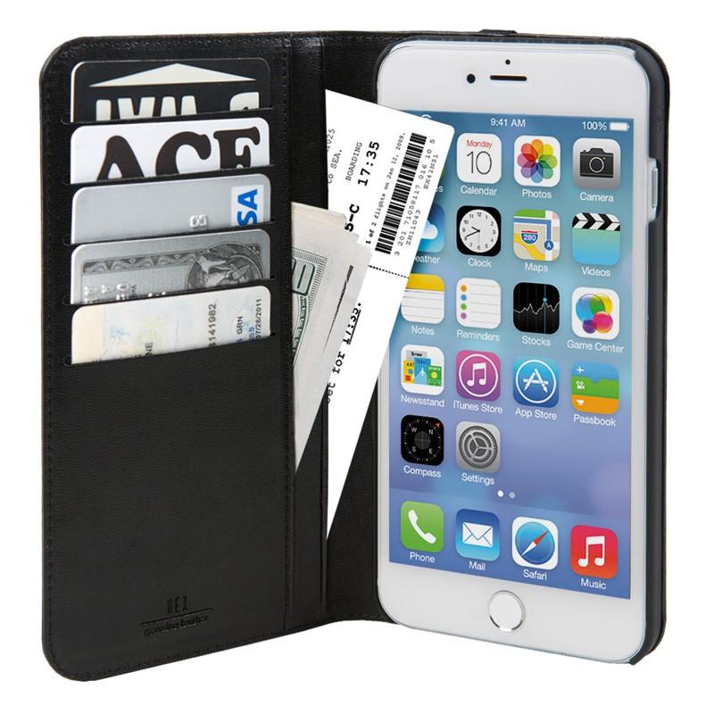 Hex Icon Wallet iPhone 7 Plus Vachetta - 3