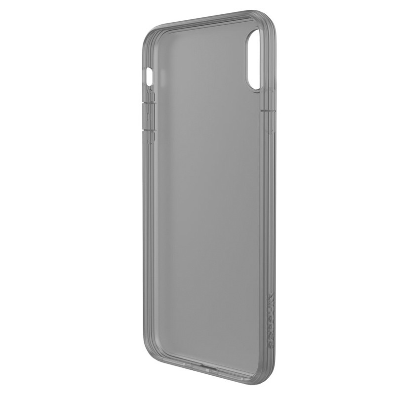 Incase - Protective Clear Cover iPhone XS Max Zwart / Transparant 03