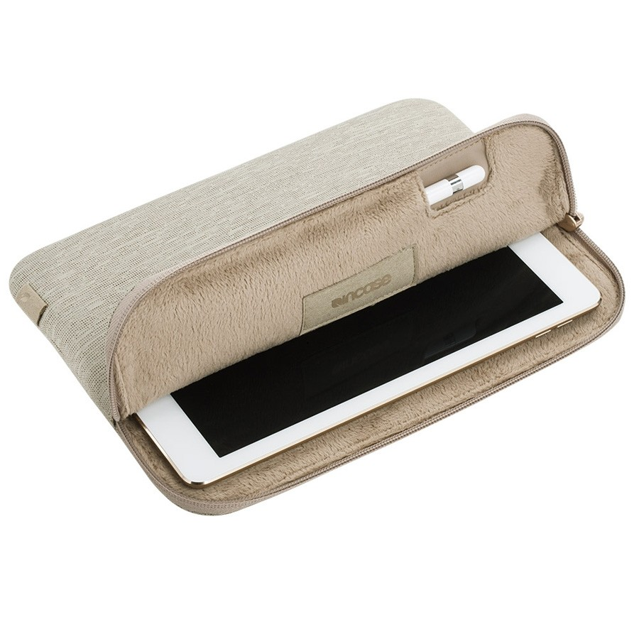 Incase Slim Sleeve iPad Pro 12.9 Heather Khaki - 3