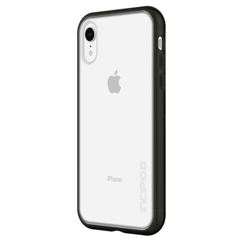Incipio Octane Pure iPhone XR Hoesje Zwart Transparant 03