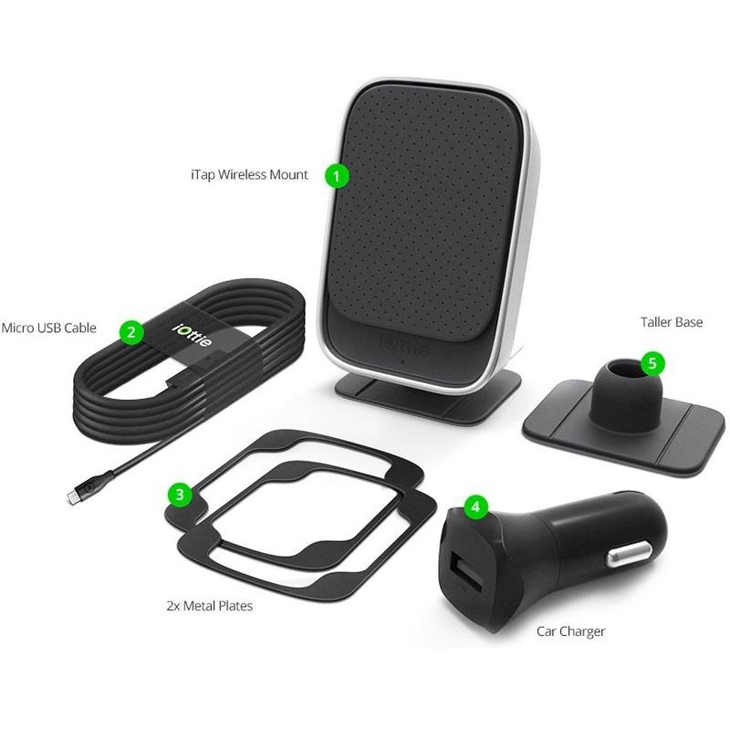 iOttie iTap Magnetic Qi Wireless Autolader - 3