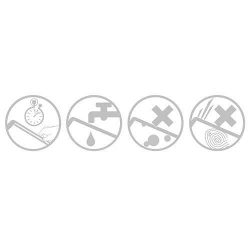 Moshi iVisor XT Glossy iPhone 5/5S/5C Black - 3