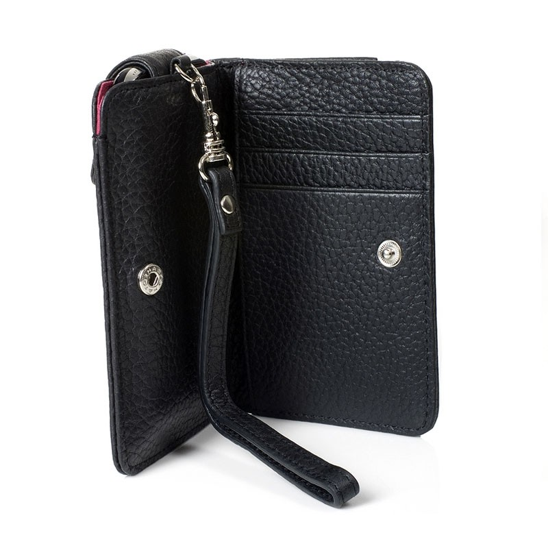 Knomo Wristlet iPhone Black 3