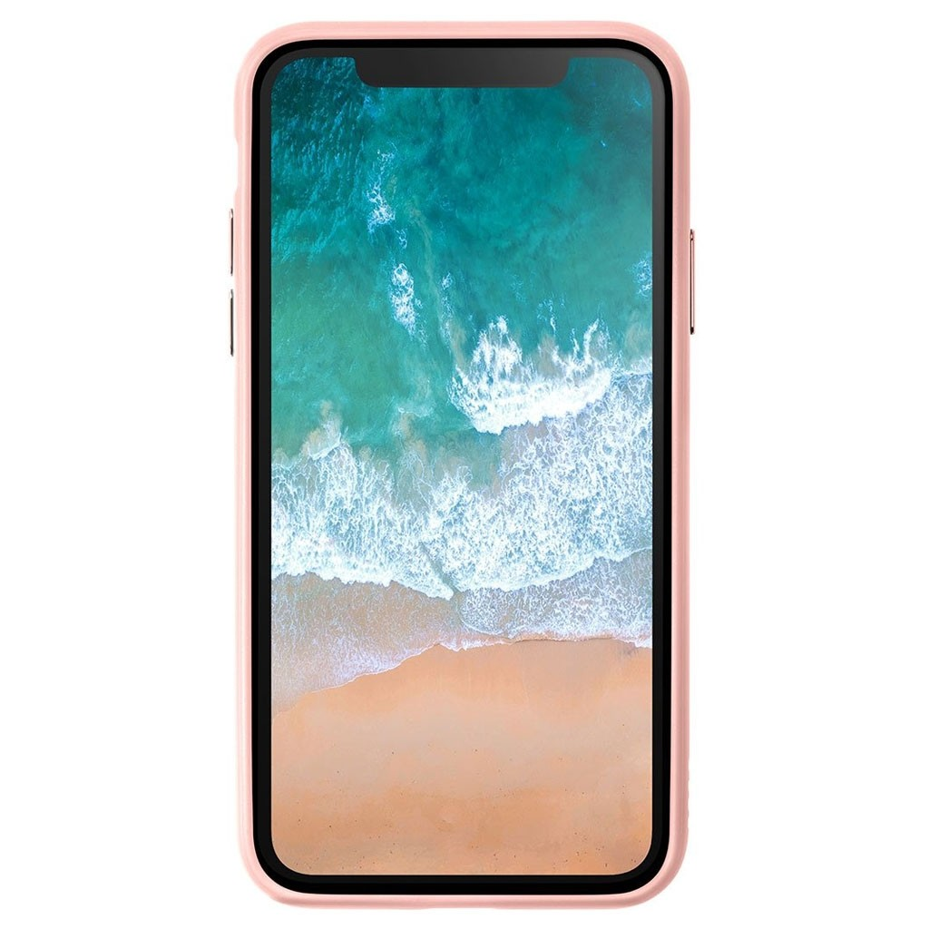 LAUT Accents iPhone X/Xs Nude Pink/Clear - 3