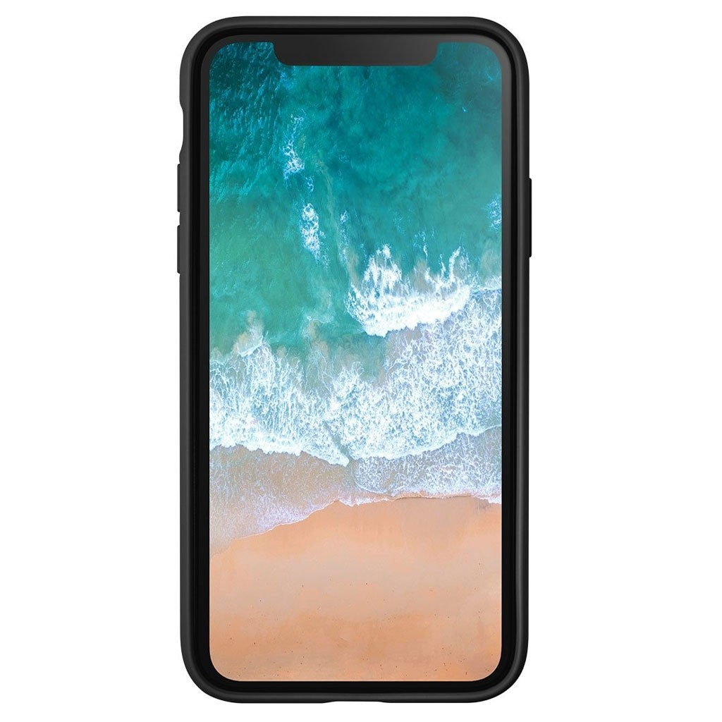 LAUT Huex Metallics iPhone X Black Marble - 3