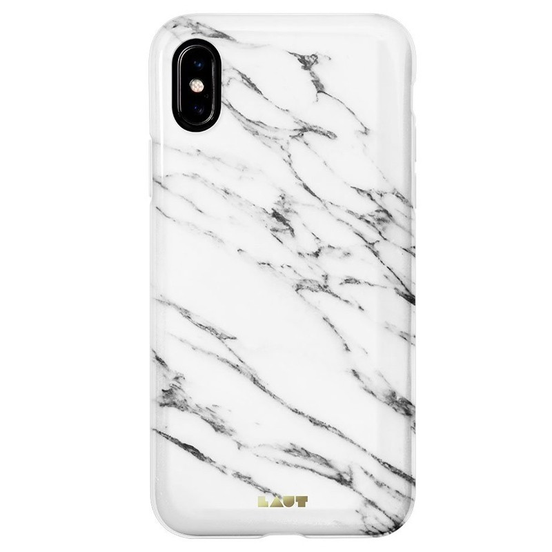 LAUT Huex-E iPhone XS Max Hoes Wit Marmer 03