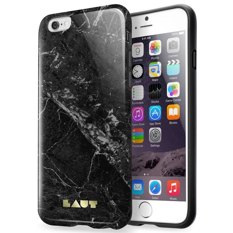 LAUT Huex Marble iPhone 6 / 6S Black - 3
