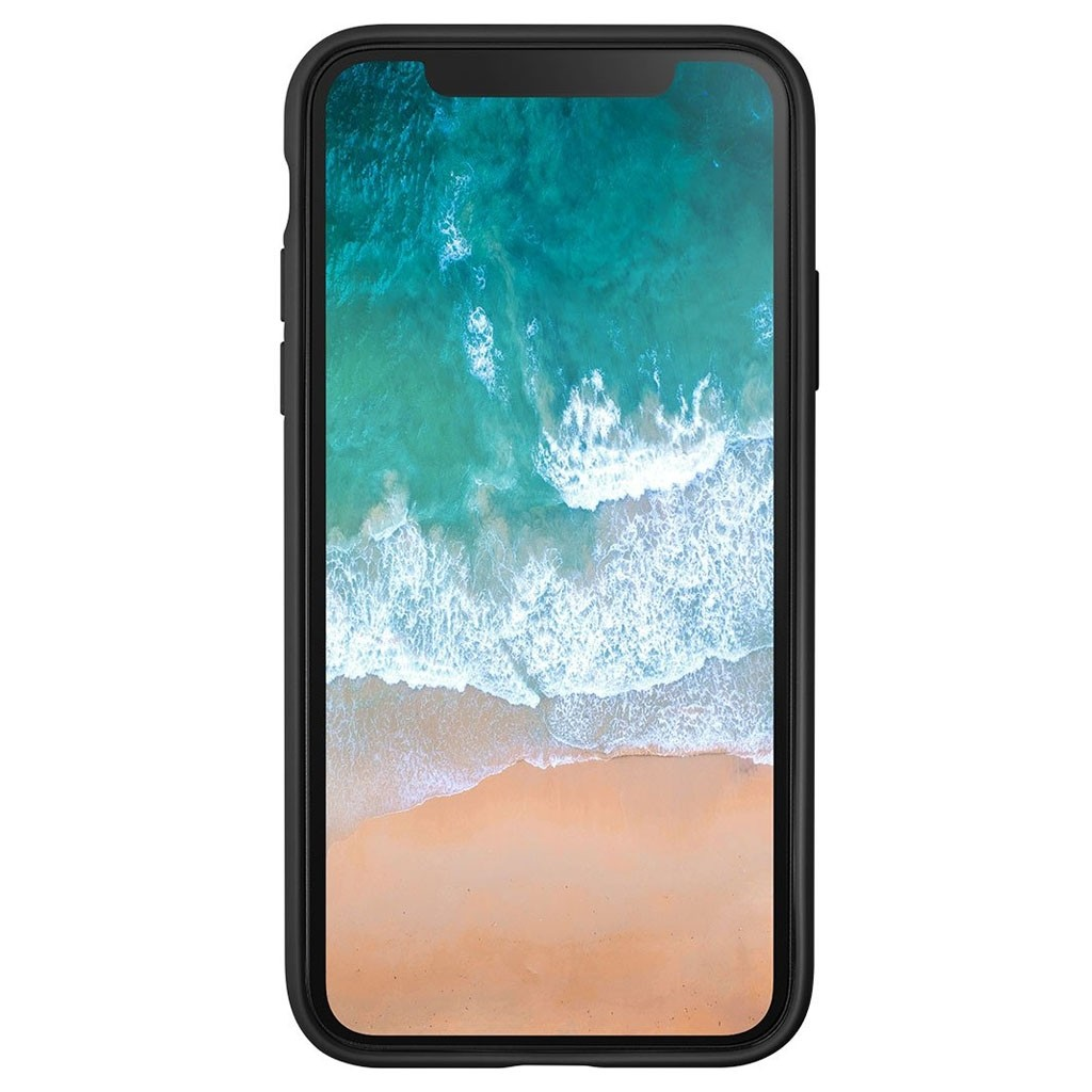 LAUT Huex Metallics iPhone X Black - 3
