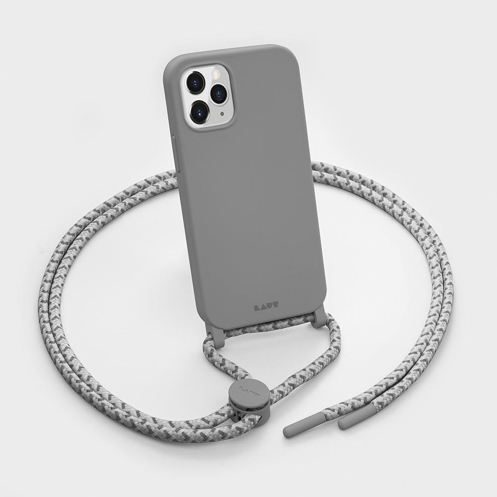 LAUT Huex Pastels Neckace iPhone 12 / iPhone 12 Pro 6.1 Grijs - 2