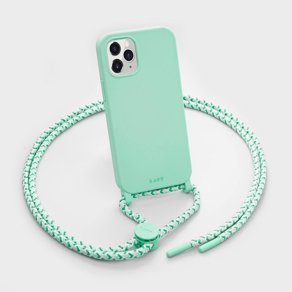 LAUT Huex Pastels Neckace iPhone 12 / iPhone 12 Pro 6.1 Groen - 3