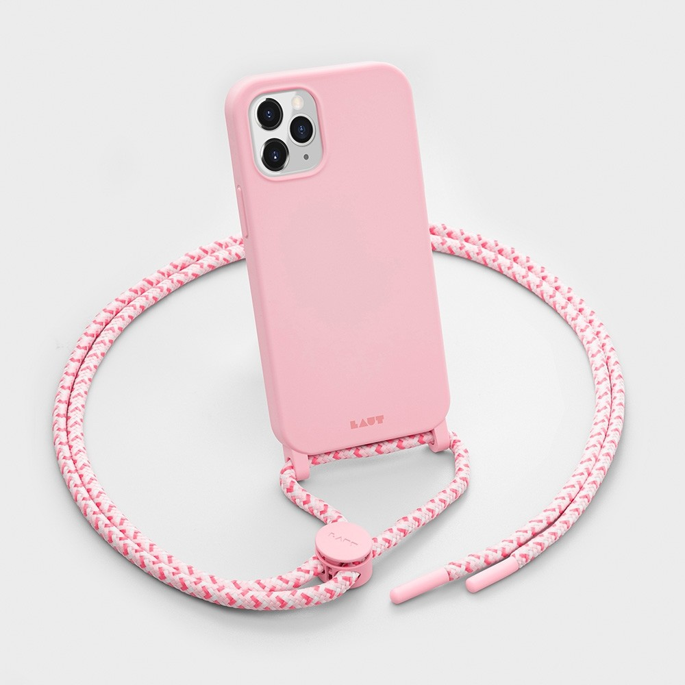 LAUT Huex Pastels Necklace iPhone 12 / iPhone 12 Pro 6.1 Roze - 3