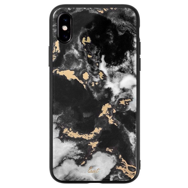 LAUT Mineral Glass iPhone XS Max Case Zwart 03