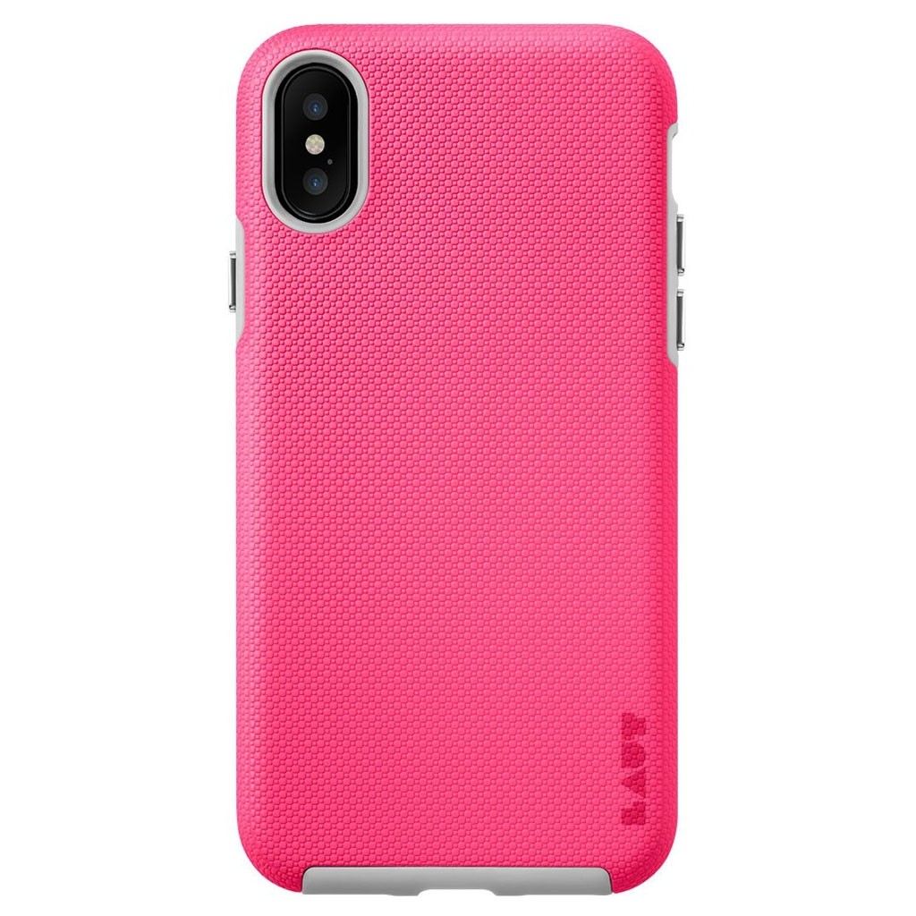 LAUT Shield iPhone X Pink - 3