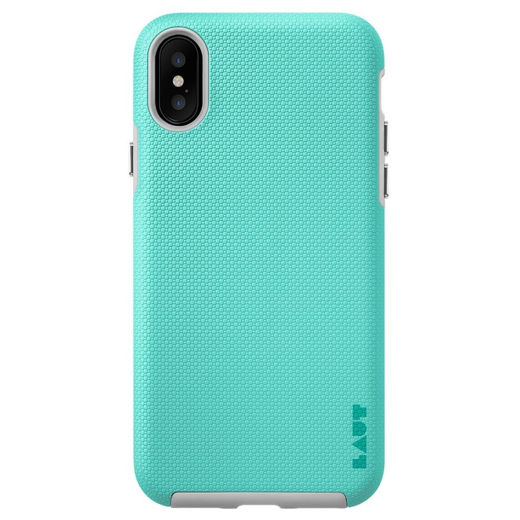 LAUT Shield iPhone X/Xs Mint Green - 3