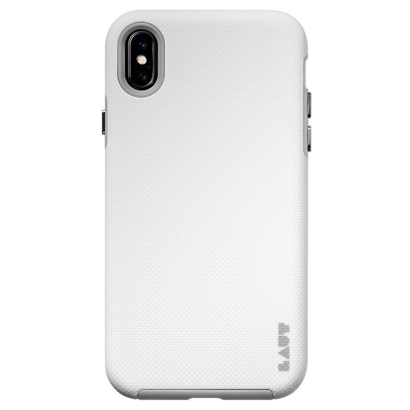 LAUT Shield iPhone XS Max Case Wit Grijs 03