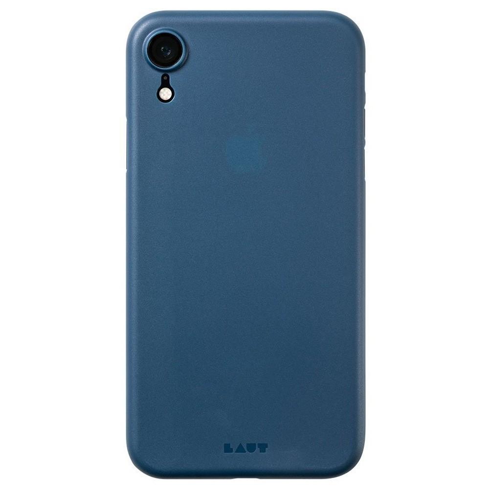 LAUT SlimSkin iPhone XR Dark Teal Blauw 03