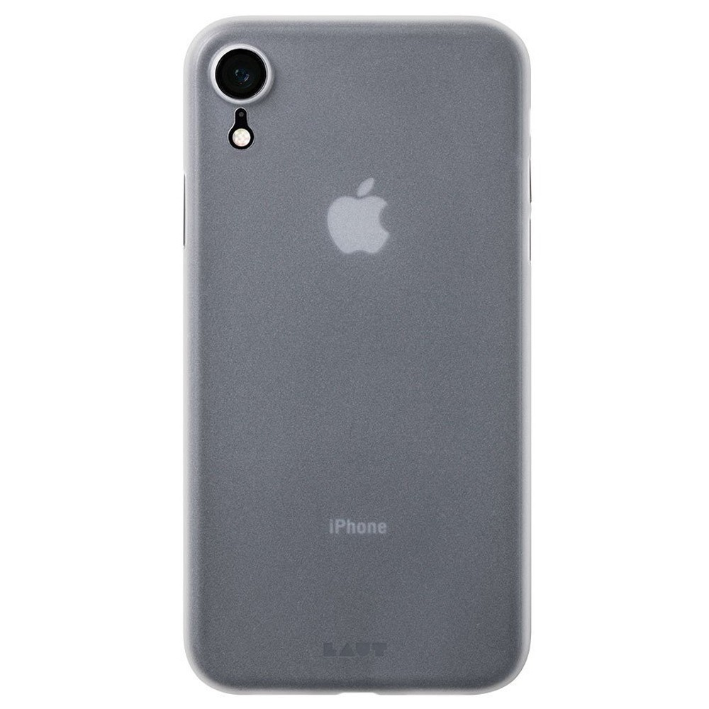 LAUT SlimSkin iPhone XR Frost doorzichtig 03