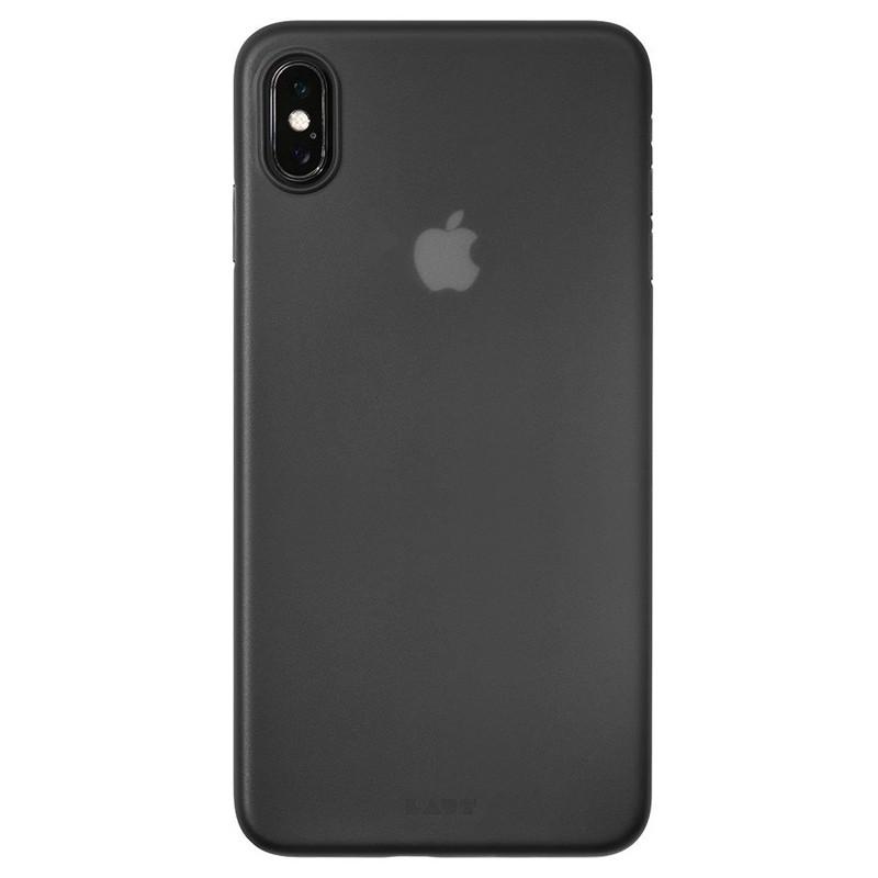 LAUT SlimSkin Flinterdun iPhone XS Max Hoesje Zwart 03