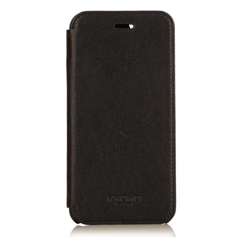Knomo Leather Folio iPhone 6 Plus Black - 3