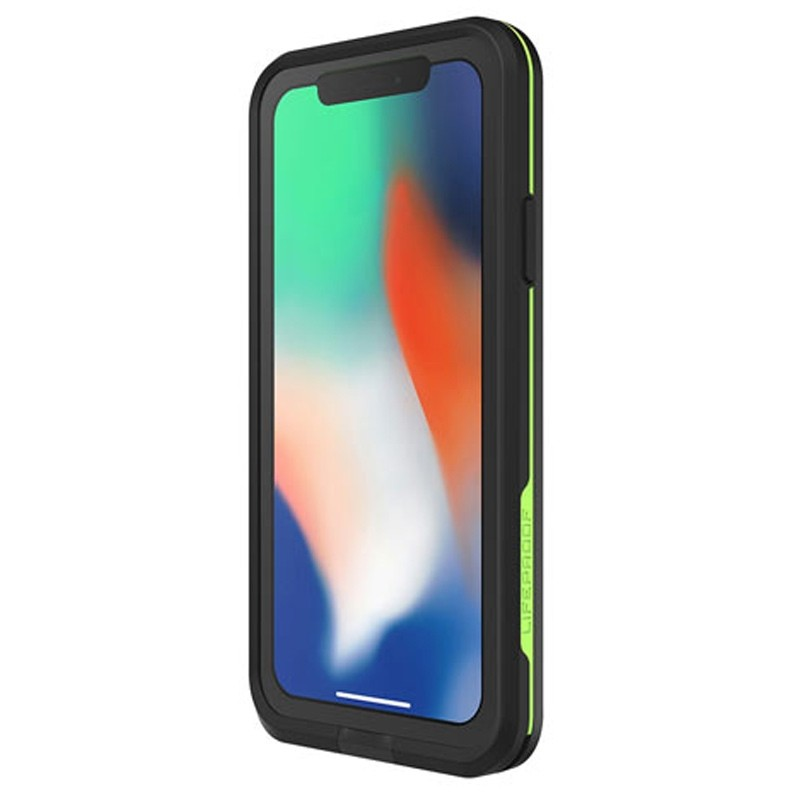 Lifeproof Waterproof Fre Case iPhone X Zwart 03