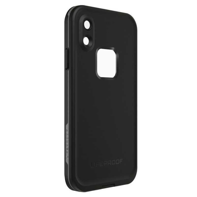 LifeProof Waterdichte Fre Case iPhone XR Asphalt Black Zwart 03