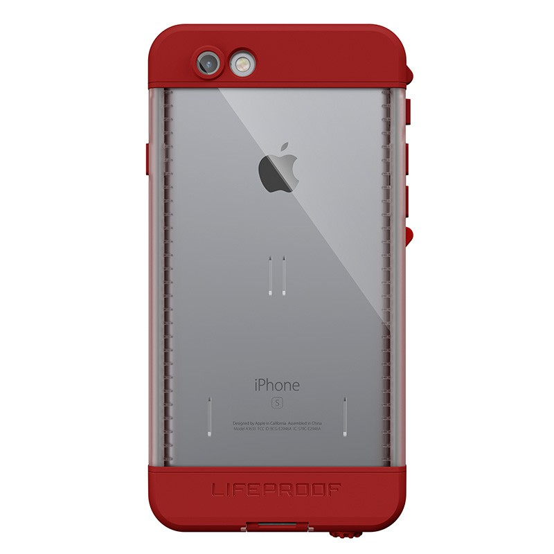 LifeProof Nüüd iPhone 6/6S Campfire Red - 3