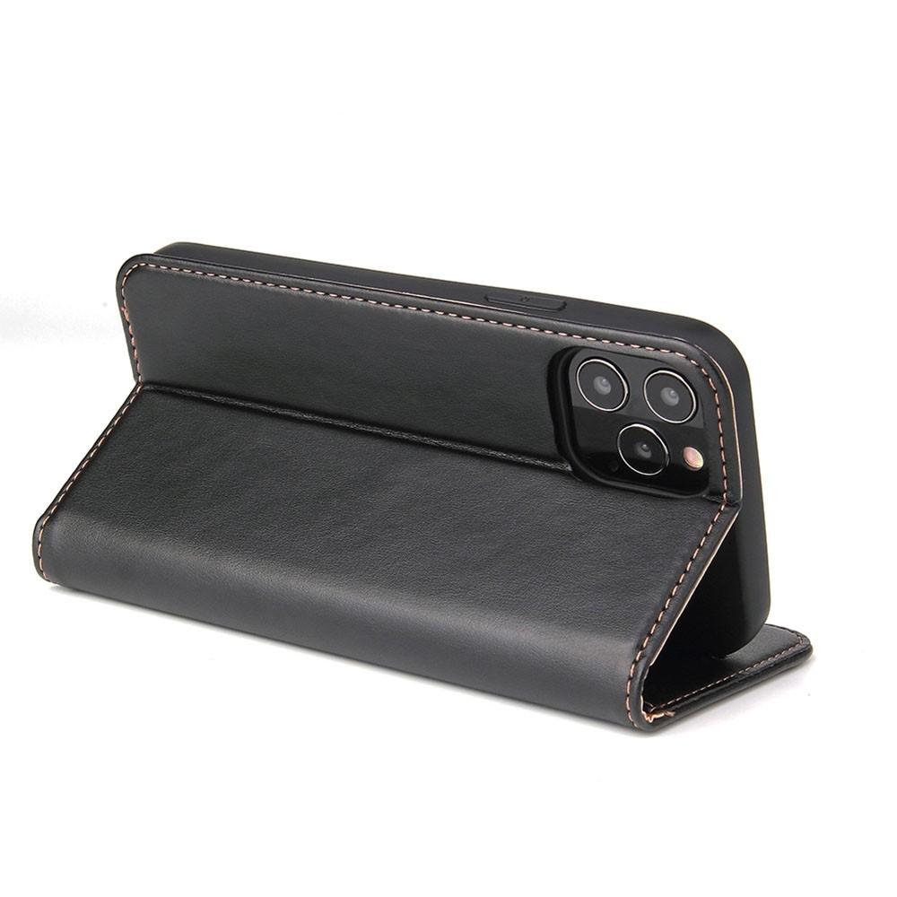 Mobiq Premium Lederen Portemonnee Hoesje iPhone 13 Pro Max Zwart - 3