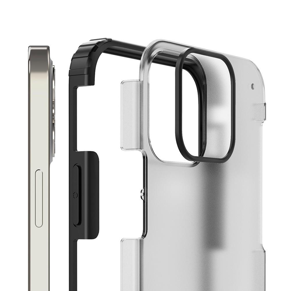 Mobiq Clear Hybrid Case iPhone 12 / 12 Pro 6.1 Groen - 3