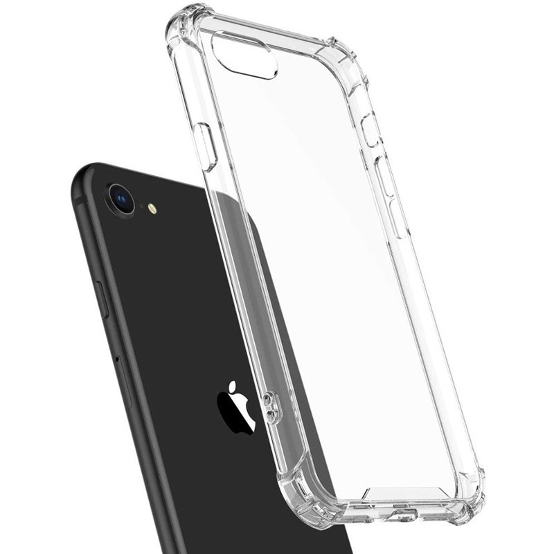 Mobiq Clear Rugged Case iPhone SE (2020)/8/7 - 3