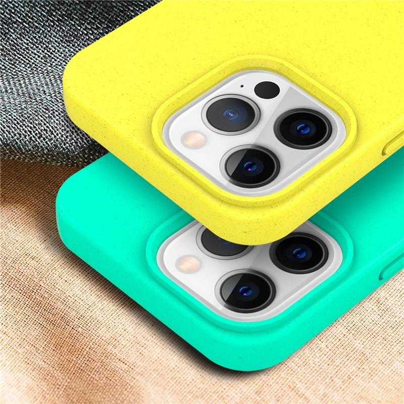Mobiq Flexibel Eco Hoesje TPU iPhone 13 Geel - 3