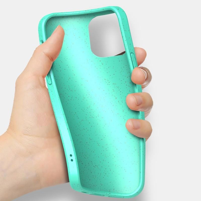 Mobiq Flexibel Eco Hoesje iPhone 12 6.1 inch Turqoise - 3