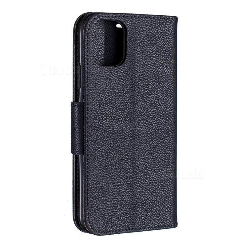 Mobiq Klassieke Portemonnee Hoes iPhone 11 Pro Max Zwart - 3