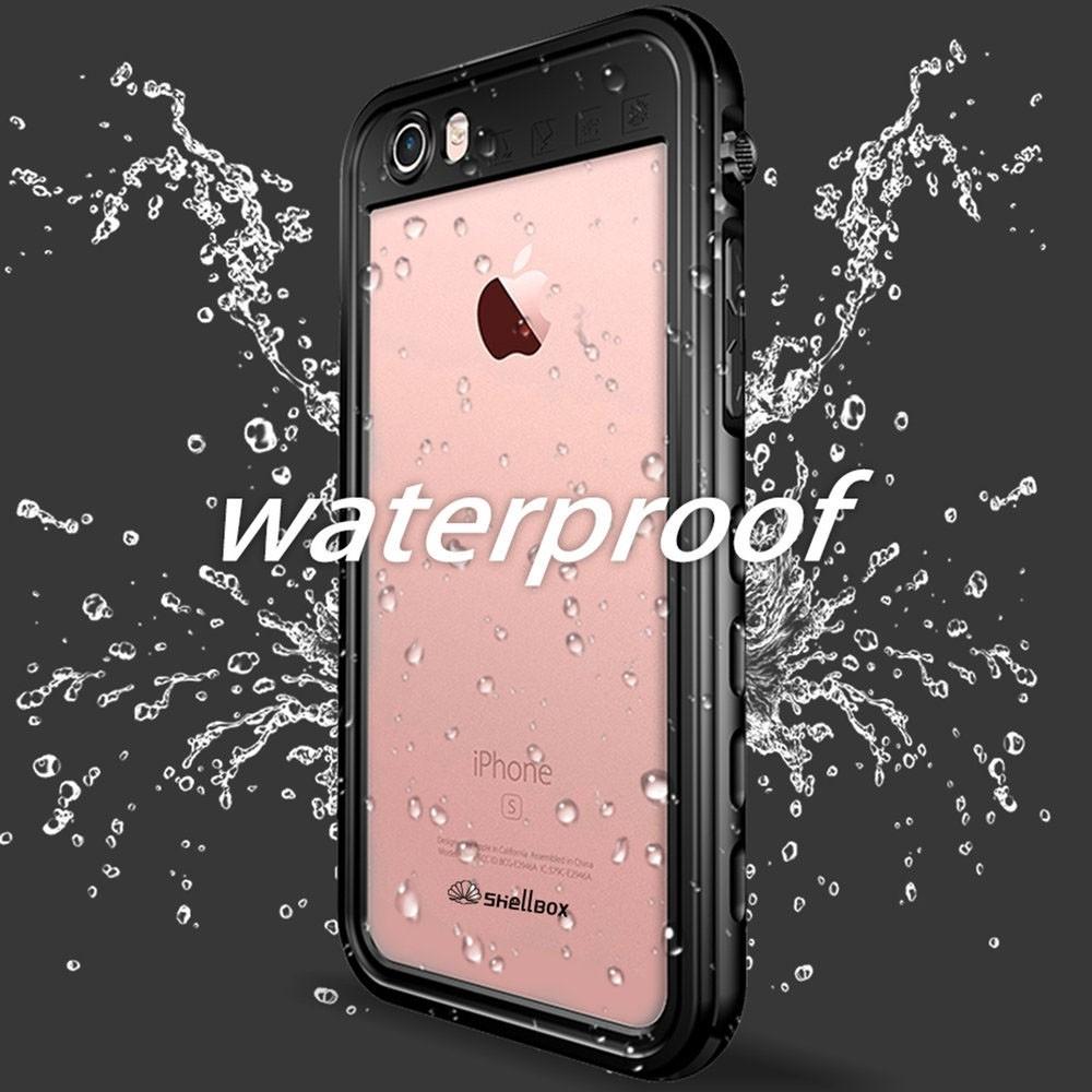 Mobiq - Waterdicht iPhone SE (2020)/8/7 Hoesje Zwart - 3