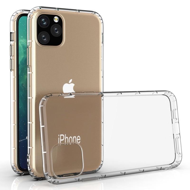 Mobiq Schokbestendig TPU Hoesje iPhone 11 Pro Max Transparant - 3
