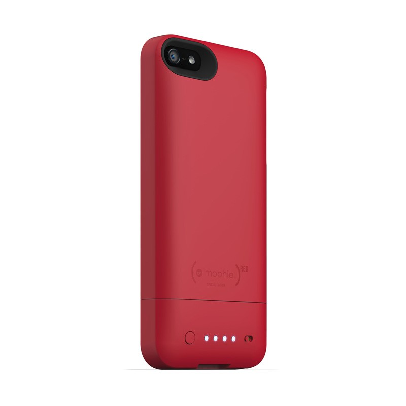 mophie juice pack helium iPhone 5 Red - 3