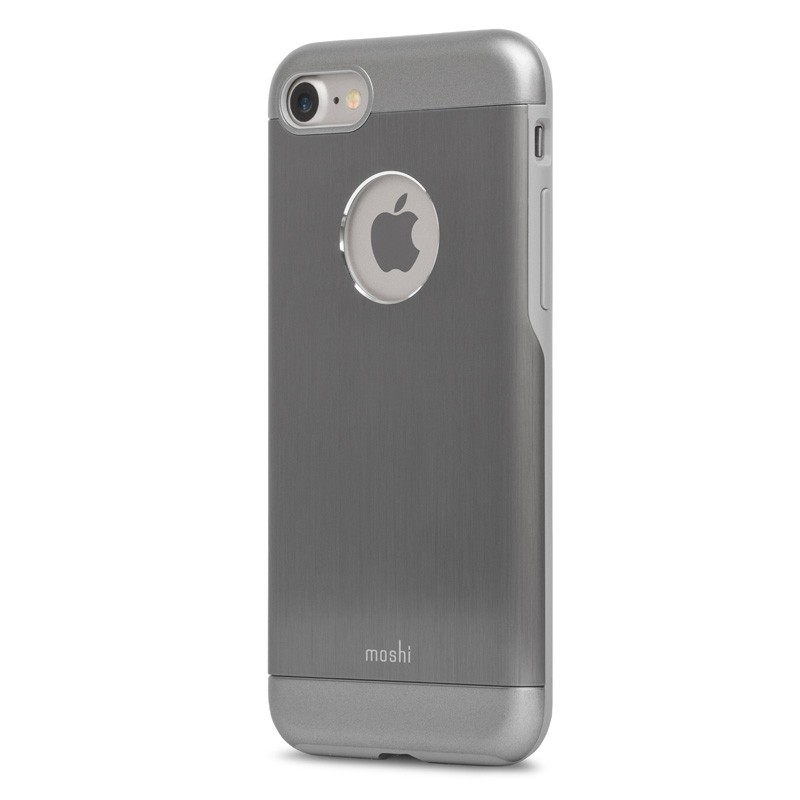 Moshi iGlaze Armour iPhone 7 Gunmetal Grey - 3